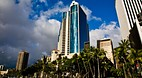 Downtown Honolulu an..