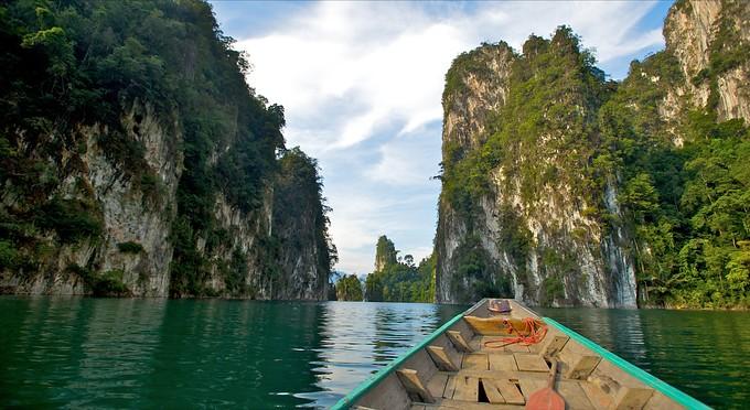 Toursimthailand Cheow Larn Lake Expedition